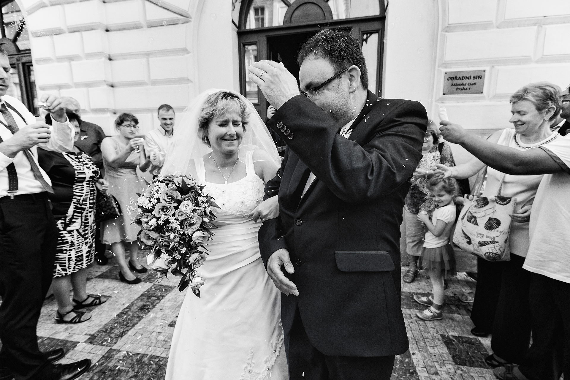 Svatba Zuzky a Josefa Moudrých